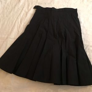 Mar by Marc pleated black skirt